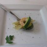 Trofie Gamberi e Zucchine