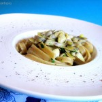 Tagliatelle light con Telline e Curry