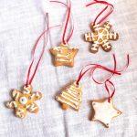 Biscotti decorati per l'Albero di Natale
