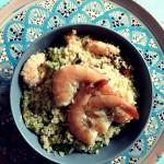 Cuscus con Gamberi e Zucchine