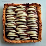 Crostata di Pere con mousse al Cioccolato e Zenzero