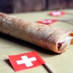 Rotolini di Pasta Fillo ripieni di Sbrinz, miele e Pistacchi